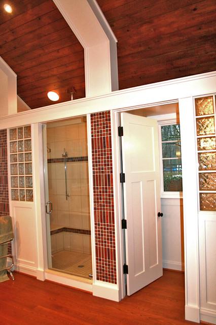 Open Door Farm Master Bath Farmhouse Bathroom Dc Metro By Ballard Mensua Architecture