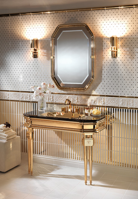 Opera Prima By Petracer 39 S Luxury Bathroom Vanity Collection Traditional Bathroom New York