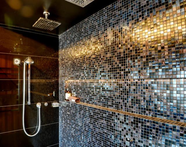 Opulent Ensuite Eclectic Bathroom Hobart By P1 Design