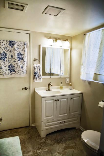 Opulent Luminocity Traditional Bathroom Phoenix By