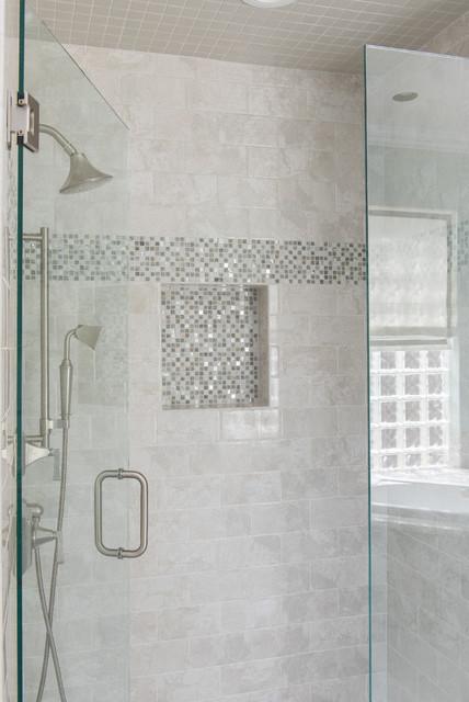 Opulent Master Bathroom Remodel Transitional Bathroom