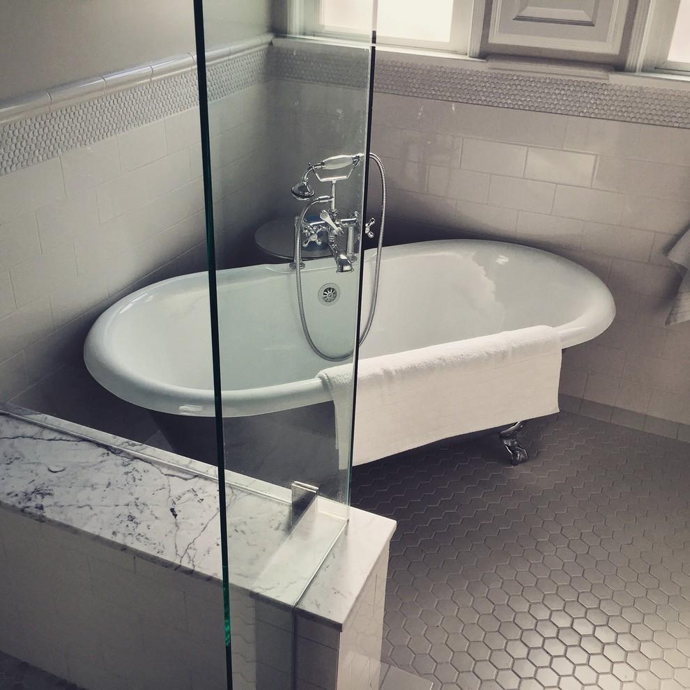 Orange County Showers - Modern - Bathroom - Orange County ...