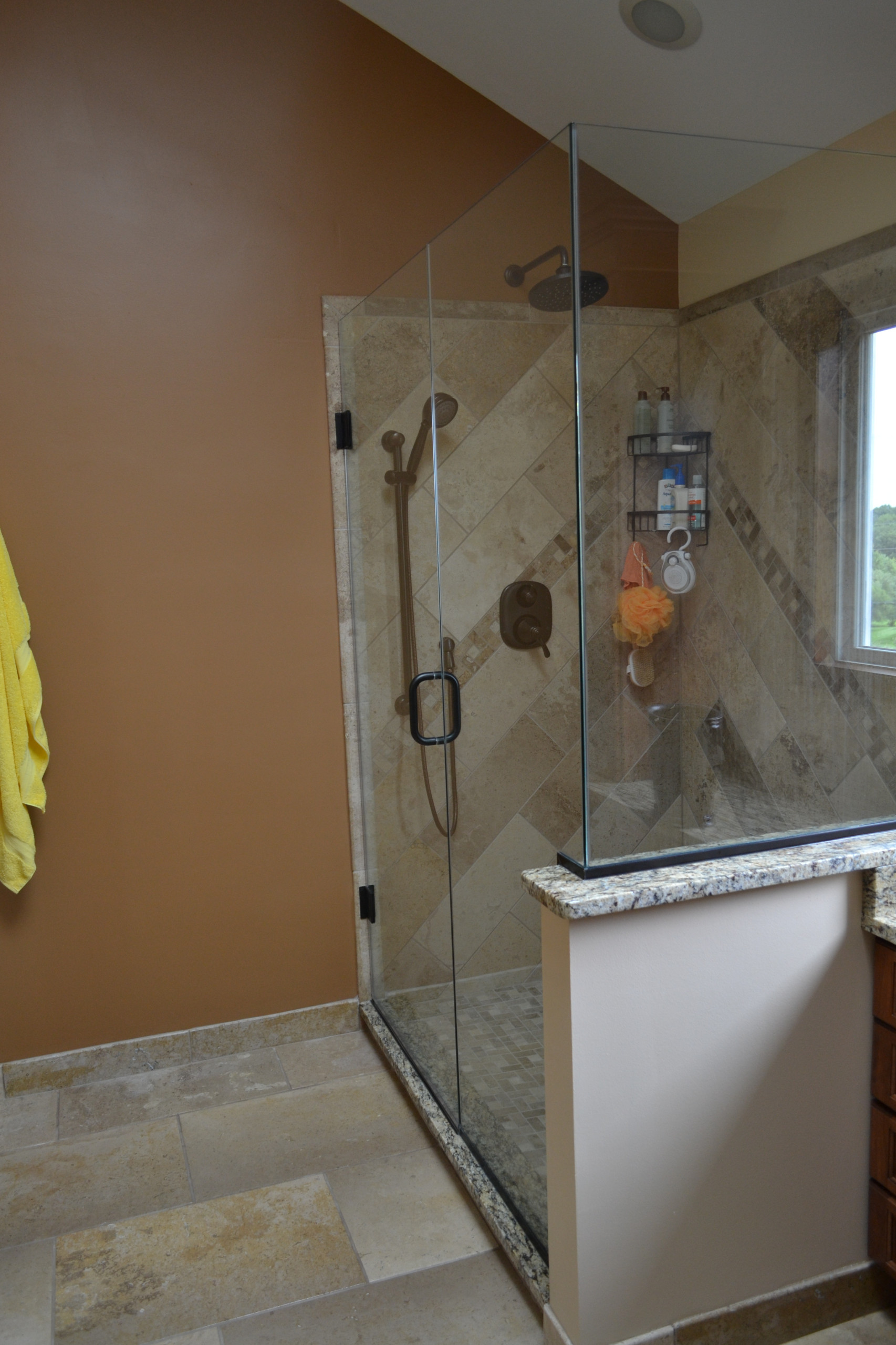 ORB shower fixtures