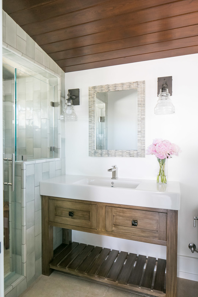 Orchid - Tropical - Bathroom - Orange County - by ...