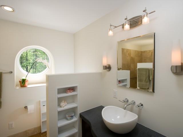 Orchid modern bath modern bathroom raleigh by for Golden rule garage door