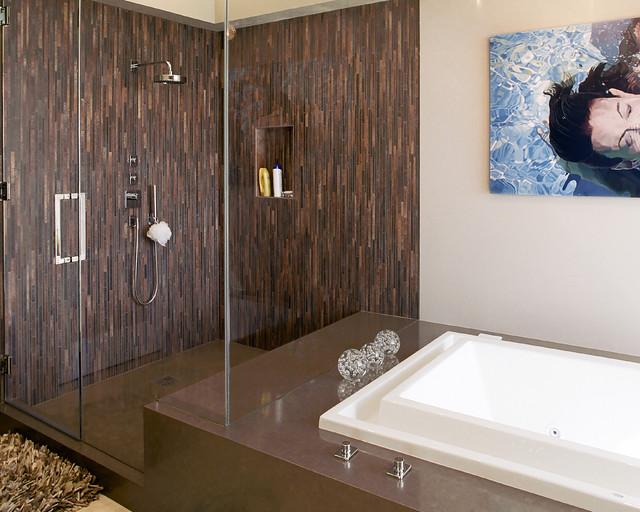 Organic Inspirations contemporary-bathroom