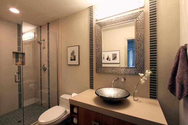Organic Modern San Diego Contemporary Bathroom Other By Brittney Nielsen Interior Design