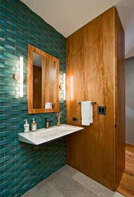 Organic Modern - Modern - Bathroom - minneapolis - by Streeter & Associates, Inc.