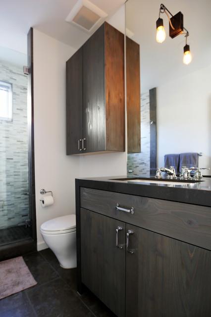 Organically industrial la jolla industrial bathroom for Bathroom stores san diego