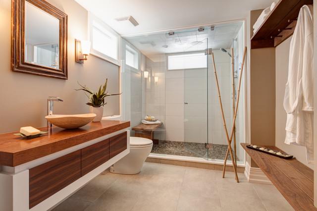 Oriole  Asiatique  Salle De Bain  Toronto  Par Frahm Interiors