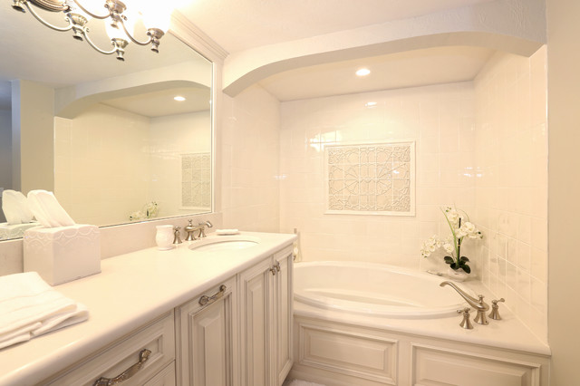 Ormond heritage condo remodel traditional bathroom for Bath remodel orlando