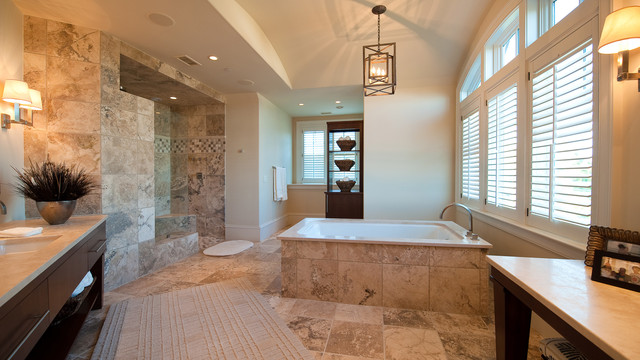 Kiawah Flyway Oceanfront traditional bathroom