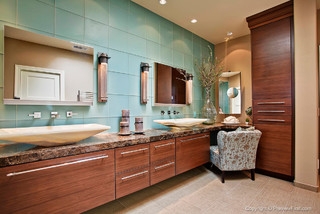 Other Rooms Eclectic Bathroom San Diego By Dewils