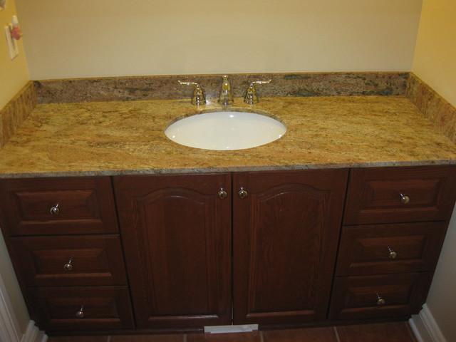 Ottawa granite bathroom vanity tops traditional bathroom