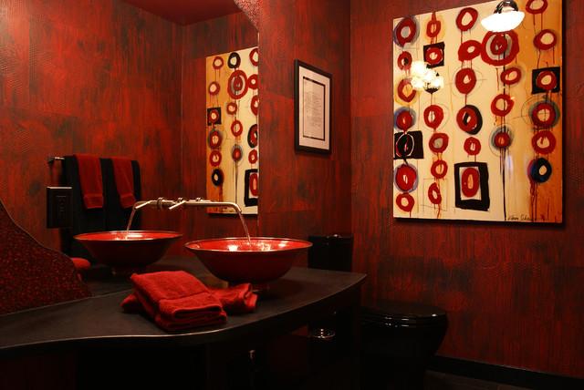 "Ottrefeck ""Red"" contemporary-bathroom"