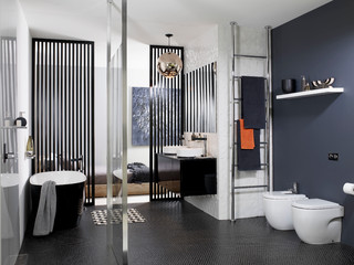 Giuselle Bathrooms Integrated Living Space Style Bathroom Design