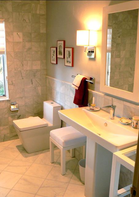 Our Bathrooms contemporary-bathroom
