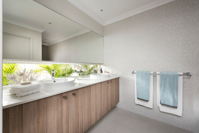Our display homes leighton i beach style bathroom for Dale bathrooms