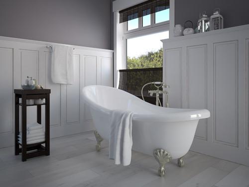 victorian style bathroom decor ideas