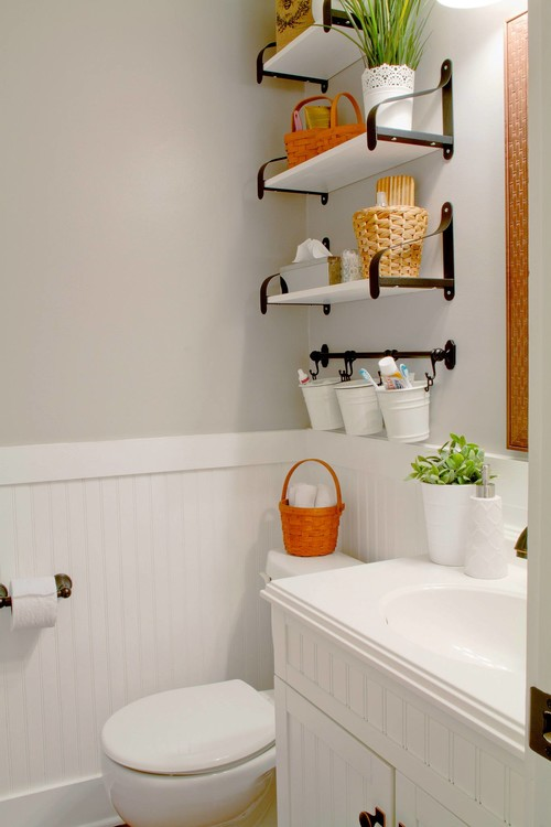 Brilliant Small Bathroom Chic Trendy Storage Solutions From Bathroom Bliss