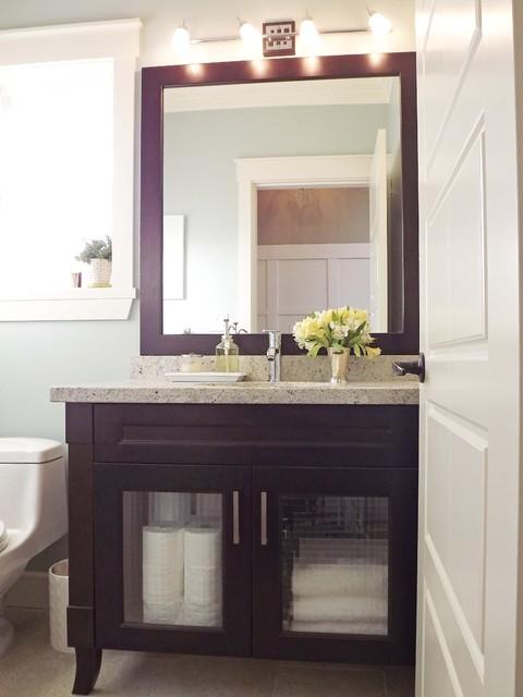 Our Mini Manor contemporary-bathroom