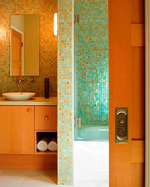 Our Previous Projects modern-bathroom