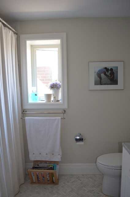 Our Renovation eclectic-bathroom