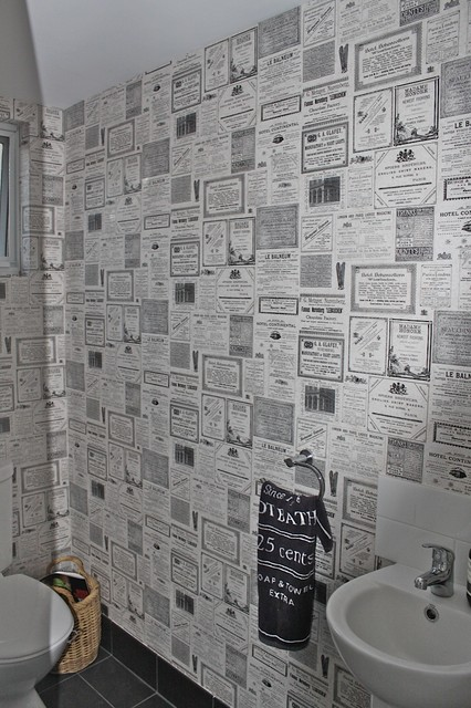 Our Wallpapering Eclectic Bathroom Perth By WA