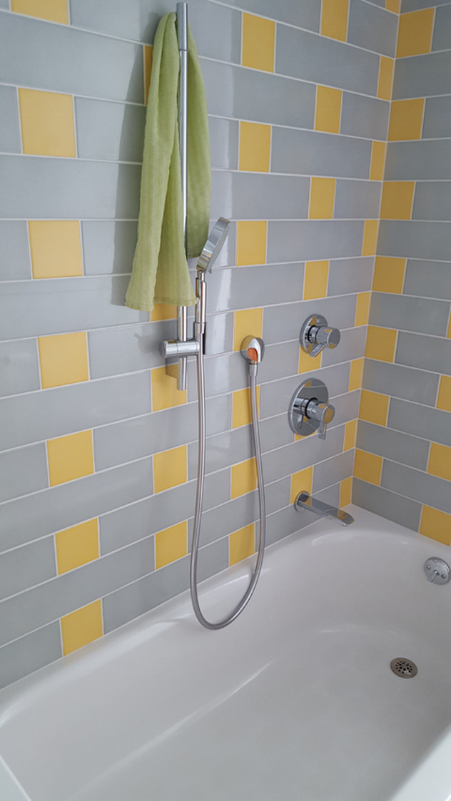 Gray And Yellow Bathroom Ideas Houzz, Yellow Gray Bathroom