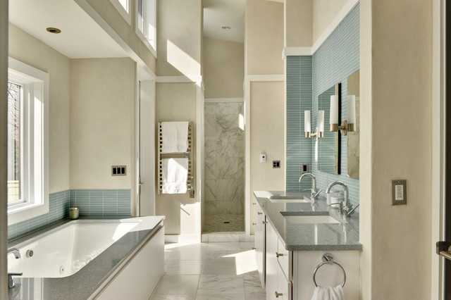 contemporary bathroom by Echelon Custom Homes