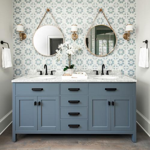 Modern Farmhouse Inspired Bathroom Renovation in Fox Valley IL