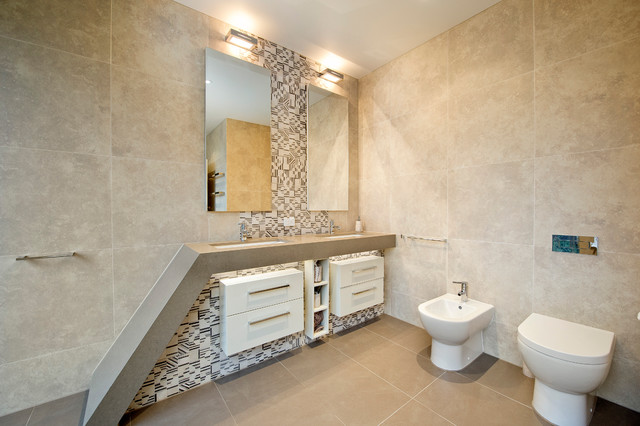 Oxford Cl, Templestowe modern bathroom