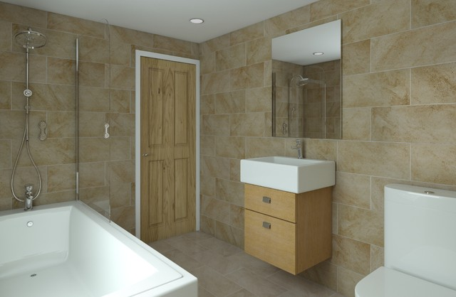 Oxford renovation and kitchen extension 3d visualisations for Oxford kitchen and bath