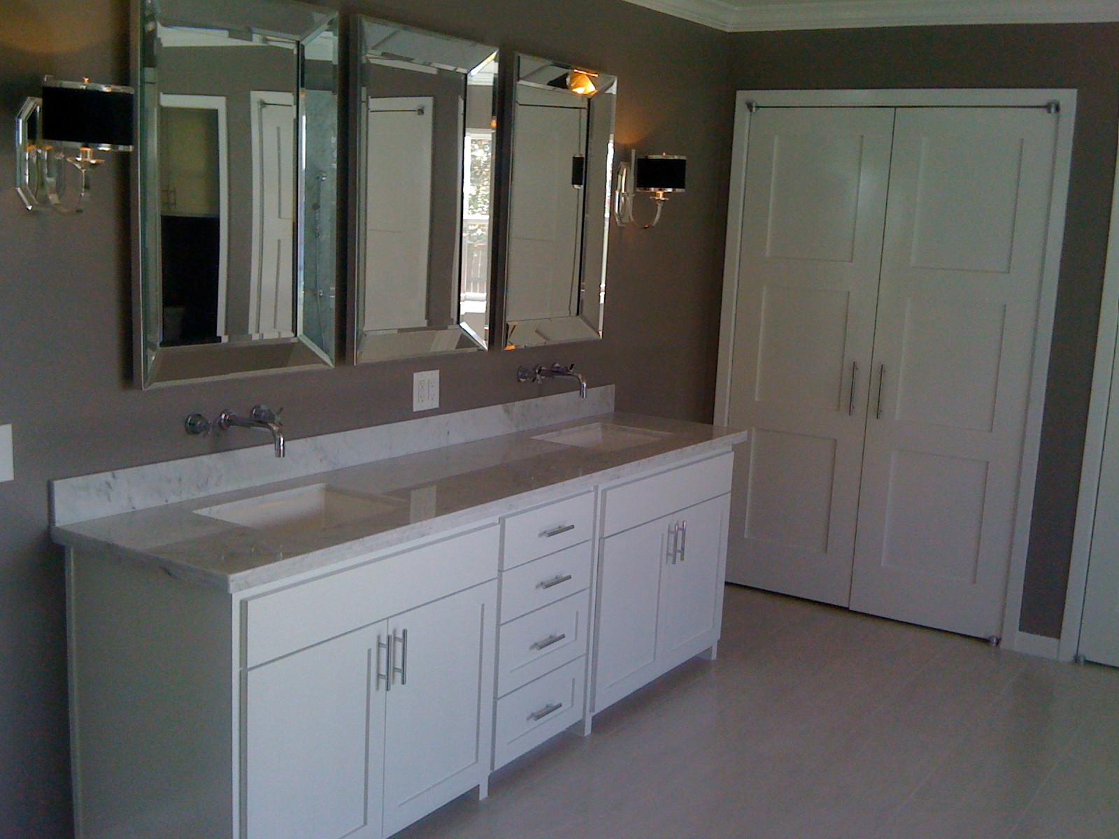 Oyster Creek - Marble Shower - Master Bathroom Suite