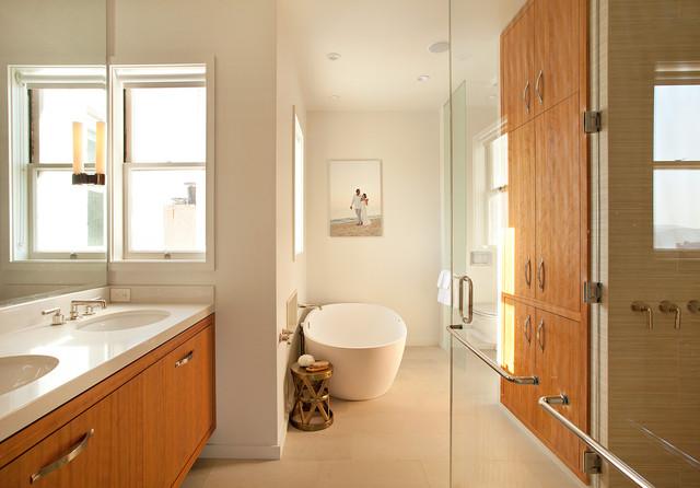 Pac Heights Penthouse modern-bathroom