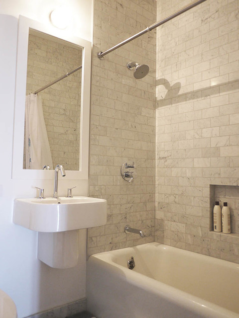 Pac heights remodel transitional bathroom san for Brammer kitchen cabinets