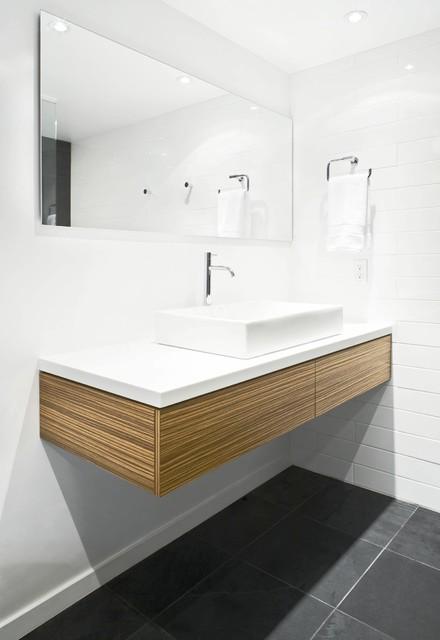 pacific ave bauhaus look badezimmer vancouver von mike strutt design. Black Bedroom Furniture Sets. Home Design Ideas