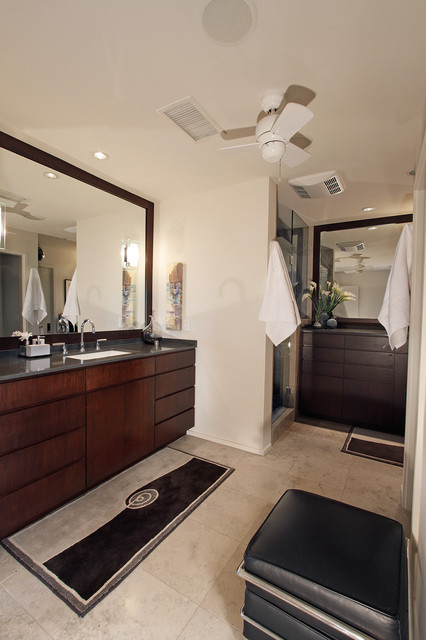 Pacific Beach Hilltop contemporary-bathroom