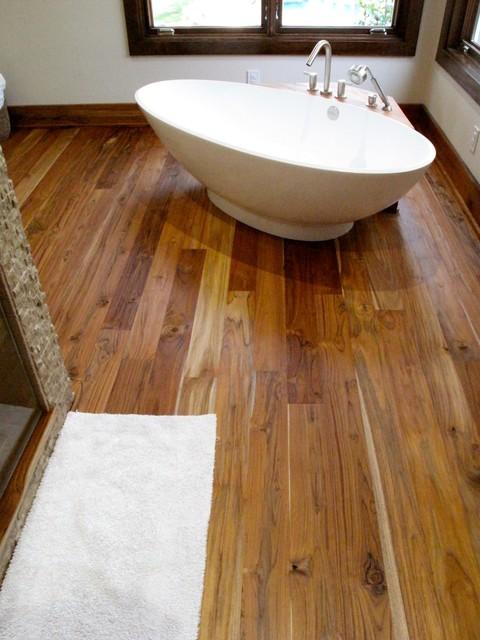 Pacific Coast Teak Rustic Grade Teak Flooring Contemporary