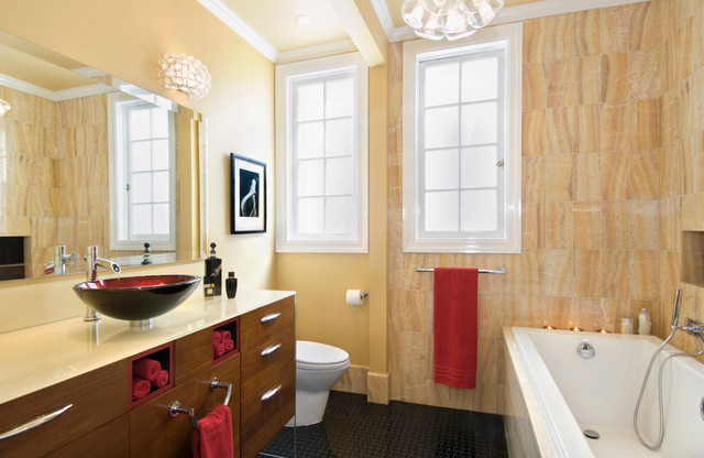 Pacific Heights Apartment contemporary-bathroom