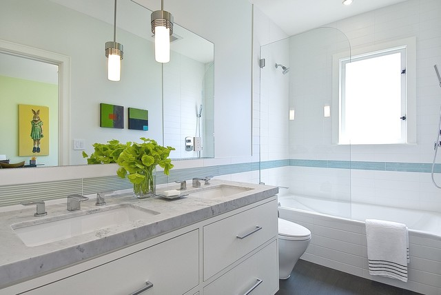 Pacific heights remodel and addition contemporary for Modern family bathroom ideas