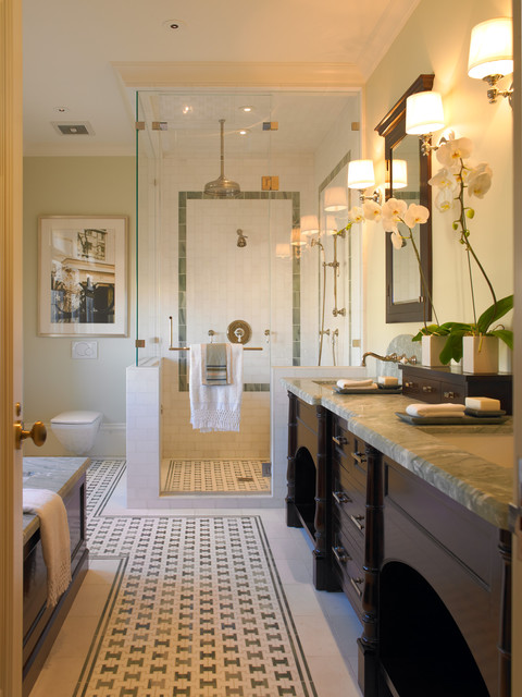 Perfect Traditional Bathroom by Gast Architects