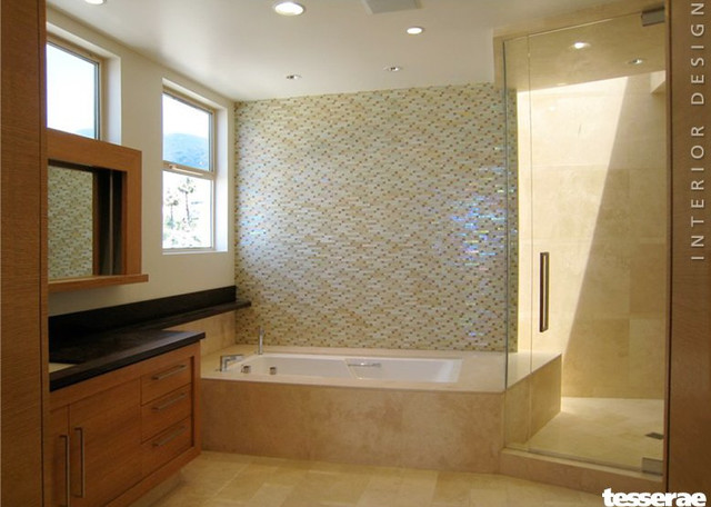 Pacific Palisades Modern Bathroom Dc Metro By Debra Heidi Interiors