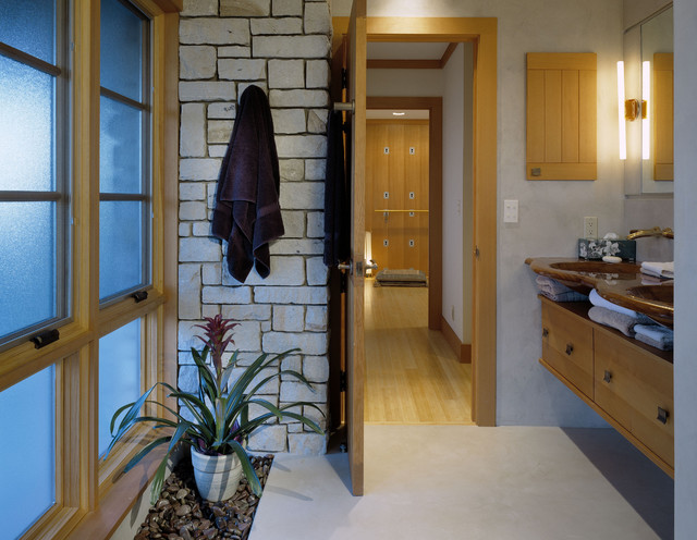 Pacific Rim Home contemporary-bathroom