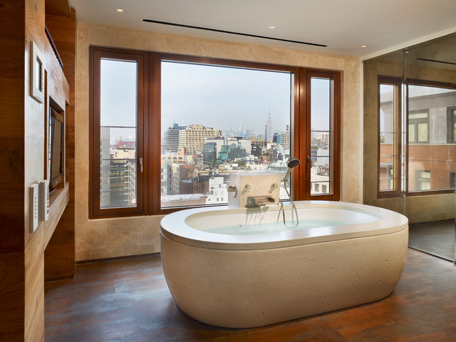 Paladini Residence - Contemporary - Bathroom - new york - by ConcreteWorks East