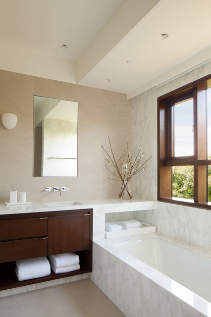 Palisades Residence Contemporary Bathroom Los Angeles By Audrey Alberts Design