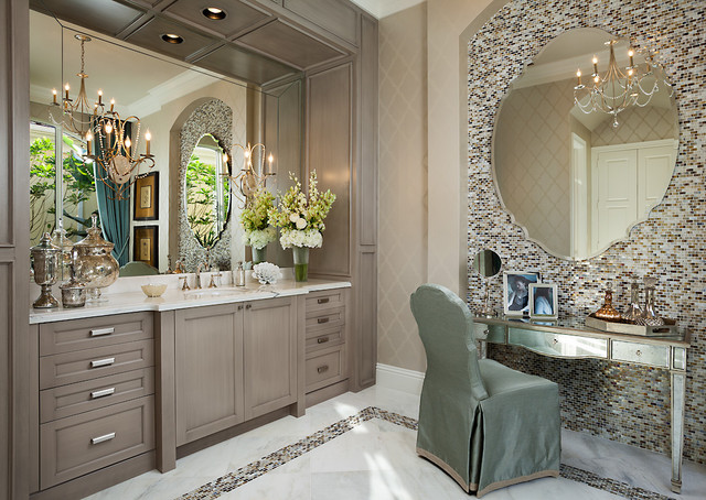 Palm Beach Model Home Traditional Bathroom Other Metro By Insignia Design Group