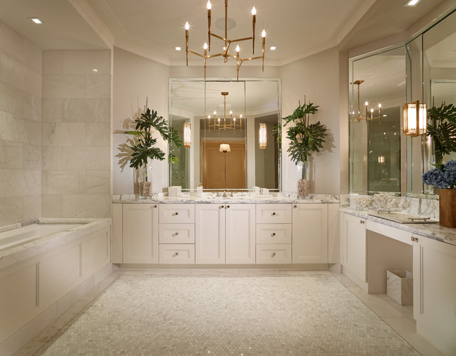Palm Beach Penthouse Transitional Bathroom Other By Dmitry Serba Design