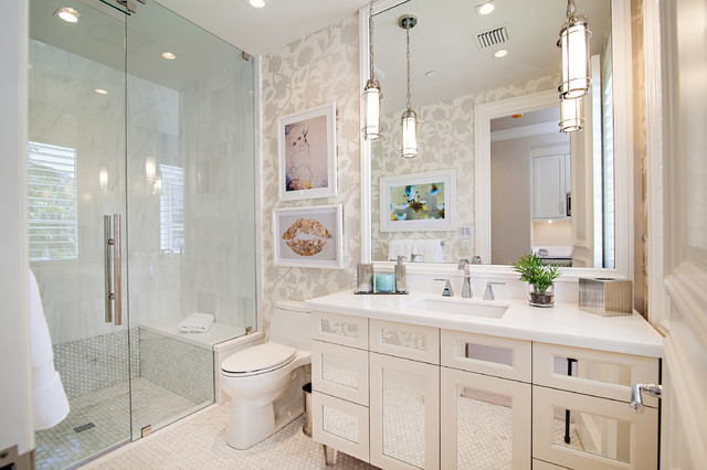 Palm Beach Transitional Transitional Bathroom Miami By Marc Michaels Interior Design