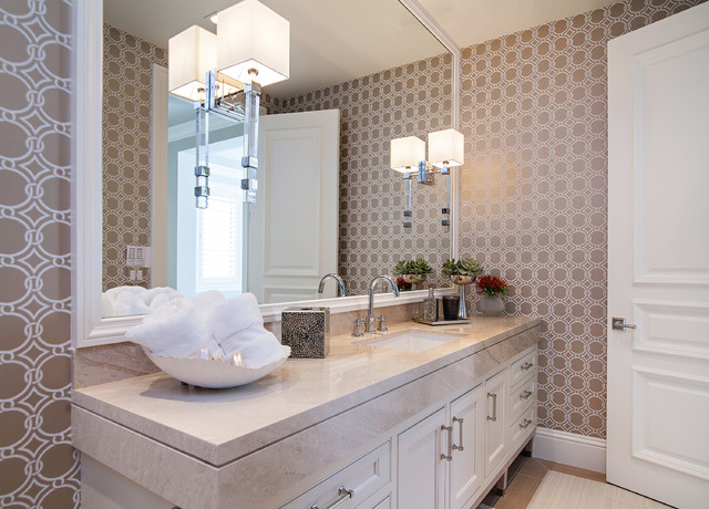 Palm Beach Transitional Transitional Bathroom Other By Marc Michaels Interior Design